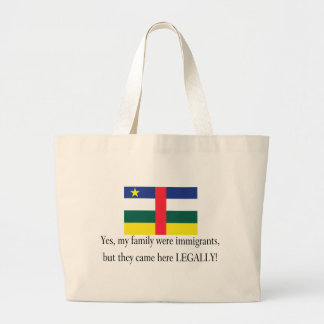Central Africa Jumbo Tote Bag