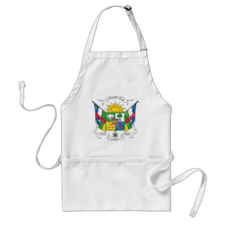 Central African Republic Coat Of Arms Standard Apron