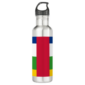 Central-African Republic Flag 710 Ml Water Bottle