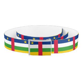 Central-African Republic Flag Belt