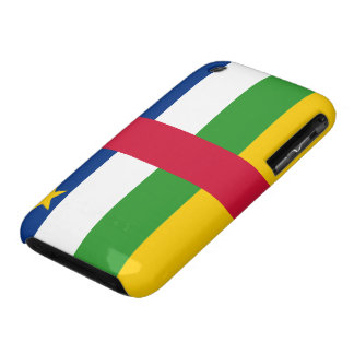 Central African Republic Flag iPhone 3 Case-Mate Case