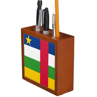 Central-African Republic Flag Desk Organizer