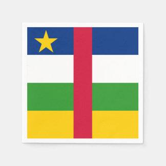 Central African Republic Flag Paper Napkins
