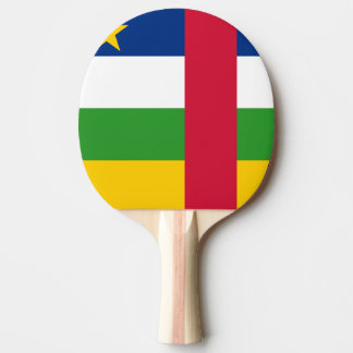 Central-African Republic Flag Ping Pong Paddle