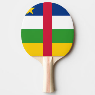Central African Republic Flag Ping Pong Paddle
