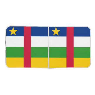 Central African Republic Flag Pong Table
