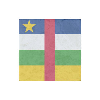 Central African Republic Flag Stone Magnets
