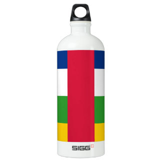 Central-African Republic Flag Water Bottle