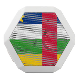 Central-African Republic Flag White Bluetooth Speaker