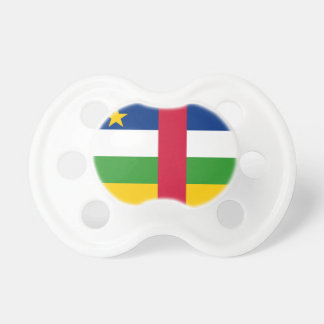 Central African Republic National World Flag Baby Pacifiers