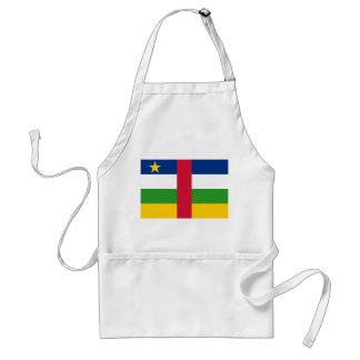 Central African Republic National World Flag Standard Apron