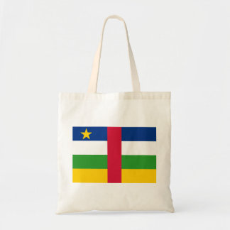 Central African Republic National World Flag Tote Bag