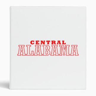 Central, alabama City Design Vinyl Binders