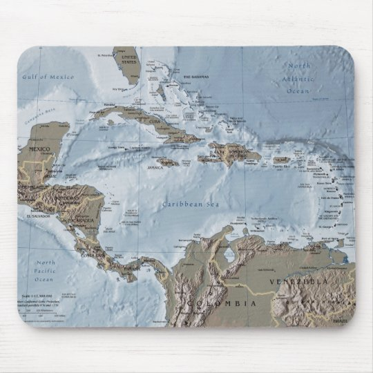 Central America Mouse Pad
