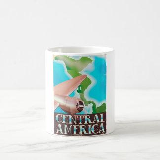 Central America vintage flight poster Coffee Mug