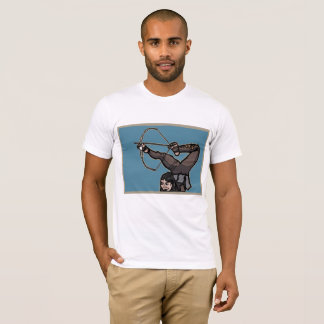Central Asian Foot Archer T-Shirt