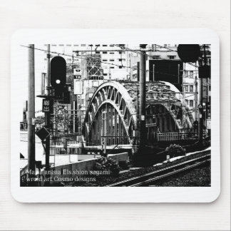 central bridge top world modern art 2016 mouse pad