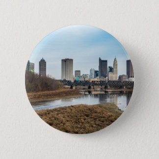 Central Business District Columbus, Ohio 2 Inch Round Button