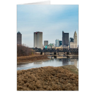 Central Business District Columbus, Ohio Card