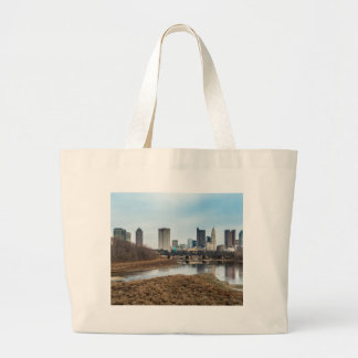 Central Business District Columbus, Ohio Large Tote Bag