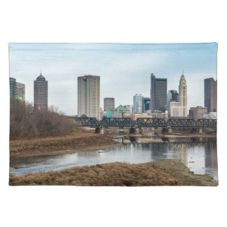 Central Business District Columbus, Ohio Placemat