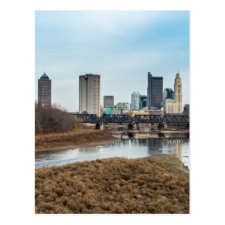Central Business District Columbus, Ohio Postcard
