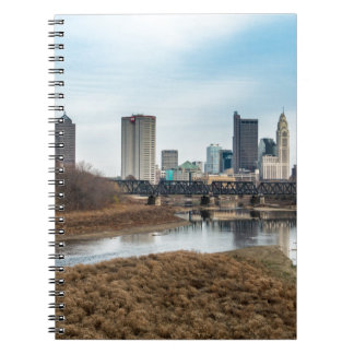 Central Business District Columbus, Ohio Spiral Notebook