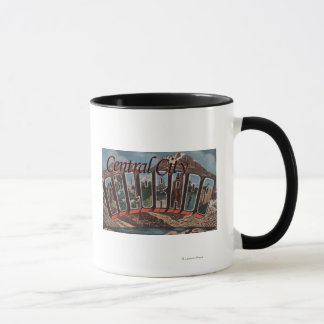 Central City, Colorado - Large Letter Scenes Mug