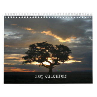 Central, East African animal calendar - Customized