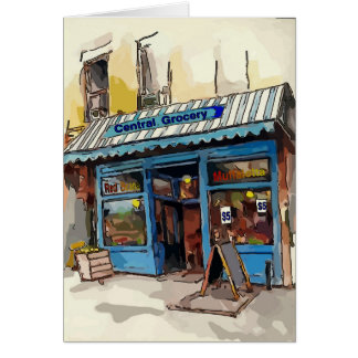 Central Grocery,French Quarter Card