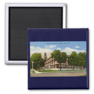 Central High School Ypsilanti Michigan - Vintage Magnet