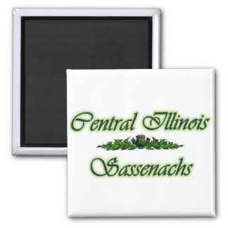 Central Illinois Sassenach's Magnet! Square Magnet