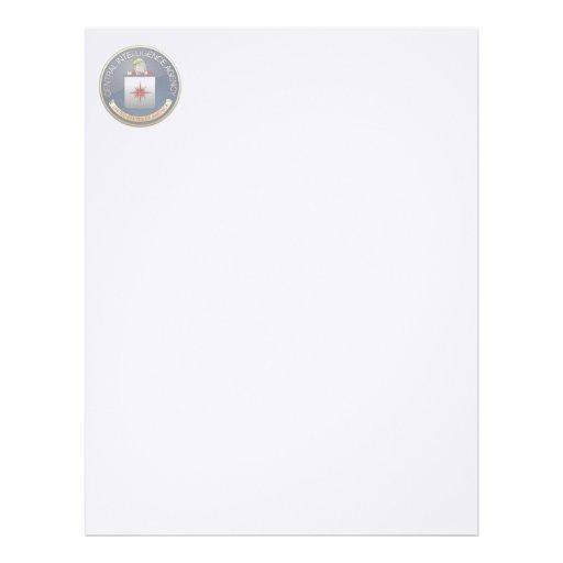 central intelligence agency cia emblem letterhead zazzle