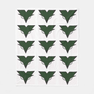 Central Knight logo blanket