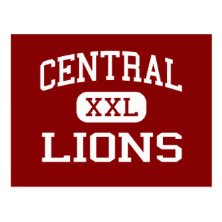 Central - Lions - High School - Carrollton Georgia Postcard