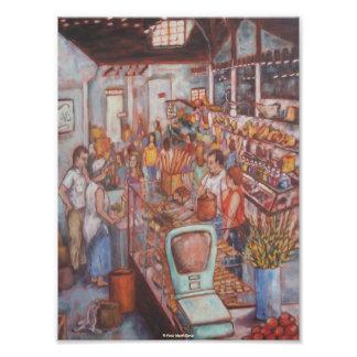 Central Market in Lancaster City Fine Art Poster Photo