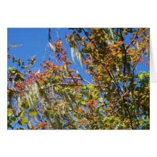 Central Oregon Fall Card