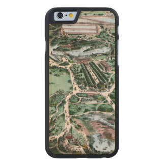 CENTRAL PARK, 1860 CARVED® MAPLE iPhone 6 CASE