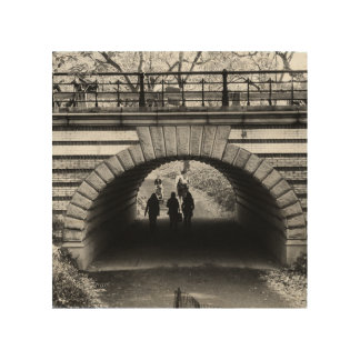 Central Park Arch Wood Art Wood Canvases