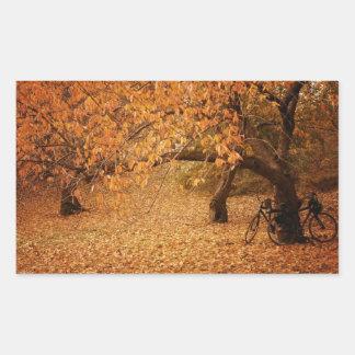 Central Park Autumn - New York City Rectangular Sticker
