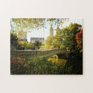 Central Park Autumn Puzzle -  Bow Bridge