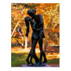 Central Park Autumn: Romeo & Juliet Statue 02 Postcard