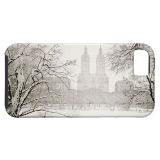 Central Park - Beautiful Winter Snow iPhone 5 Cover