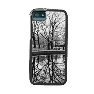 Central Park Black and White Landscape Photo iPhone 5 Cases