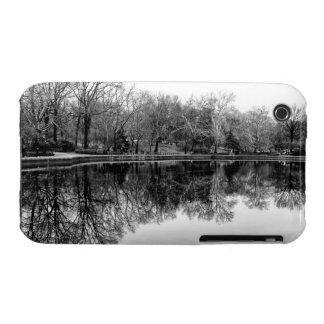 Central Park Black and White Landscape Photo iPhone 3 Cases