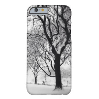 Central Park Blanketed In White Barely There iPhone 6 Case