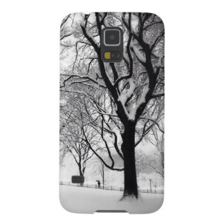 Central Park Blanketed In White Galaxy S5 Case