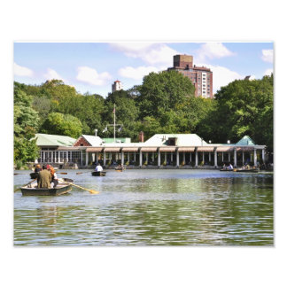 Central Park Boathouse Photo Print