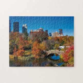 Central Park Bride Jigsaw Puzzle