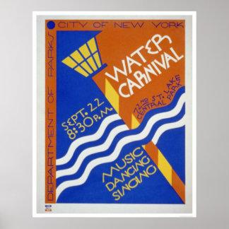 Central Park Carnival 1936 WPA Poster